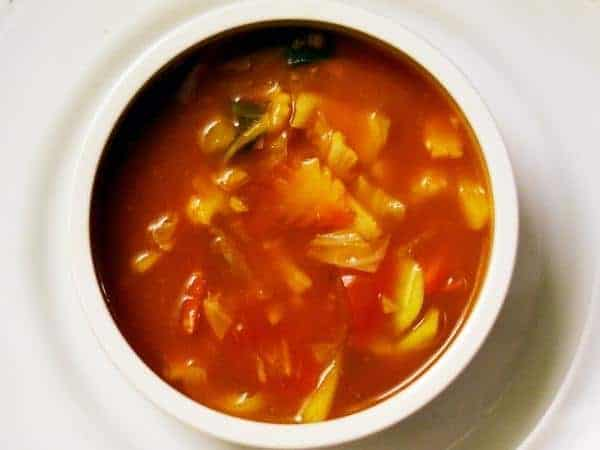 Slimming World slow cooker sweet and sour vegetables