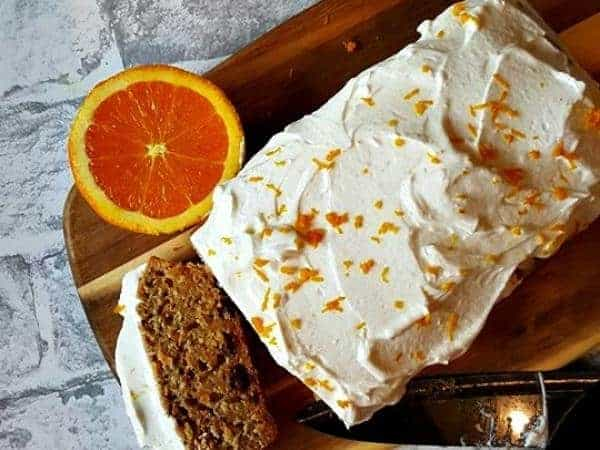 carrot cake made to a Slimming World recipe